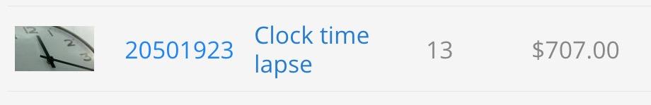 Guadagni su Pond5 ottenuti con un orologio ikea: un'esempio di come guadagnare da casa