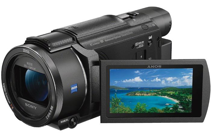 Videocamera 4k Sony Fdr-ax53
