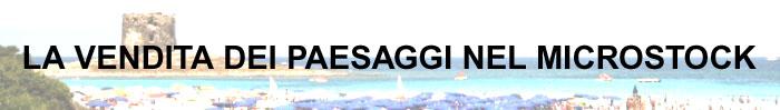 """Copertina del post """"La vendita dei paesaggi nel microstock"""""""