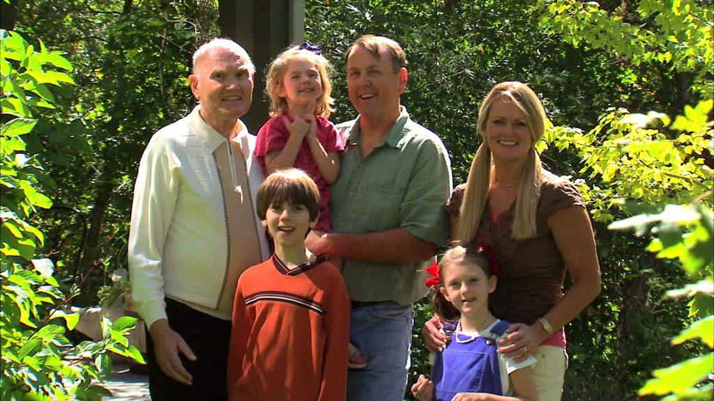Ritratto di una famiglia americana tratto da un video in vendita su Videoblocks