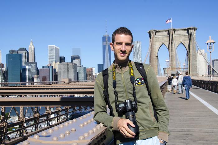 Il produttore di immagini stock Claudio Gedda a New York