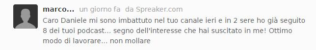 """Commento Spreaker sul podcast """"Vendere foto e video online"""""""
