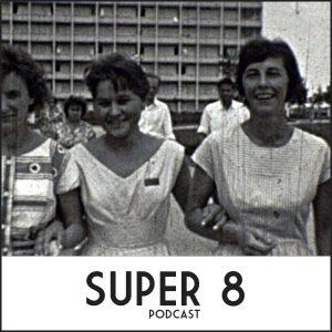 """Copertina del podcast di Daniele Carrer """"super 8"""""""