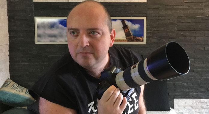Il videomaker Davide Romanini