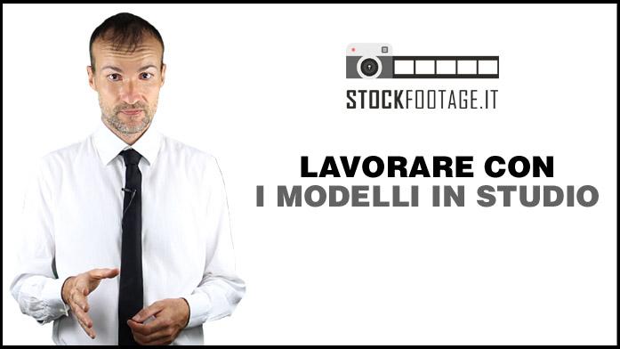 """Locandina del video tutorial di Daniele Carrer """"lavorare con i modelli in studio"""""""