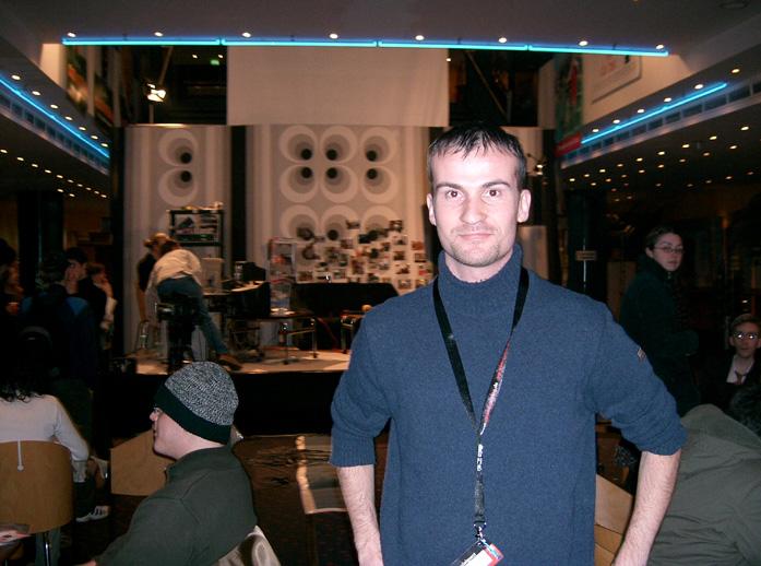 Daniele Carrer all'Hannover film festival 2005
