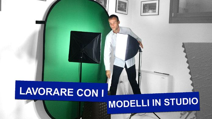 """Copertina del tutorial di Daniele Carrer """"Lavorare con i modelli in studio"""""""
