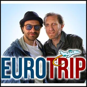 "La locandina del docu-reality sui viaggi low cost ""Eurotrip"""
