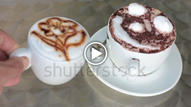Cappuccino con schiuma