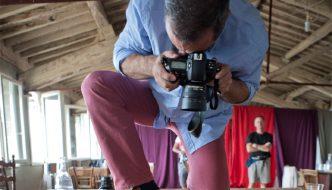 Cristiano Palazzini: quella volta che fotografai Tarantino