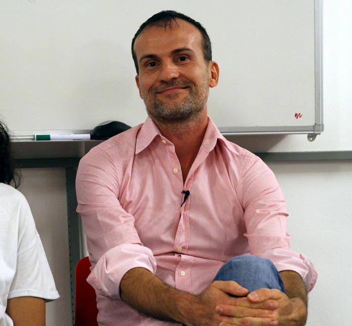 Daniele Carrer alla conferenza JOB FUTURE il 14 settembre 2017 allo IED di Milano