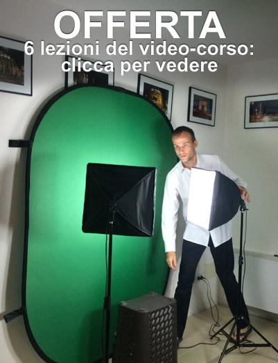 Banner di offerta per la versione da 6 video del corso su come vendere foto e video online