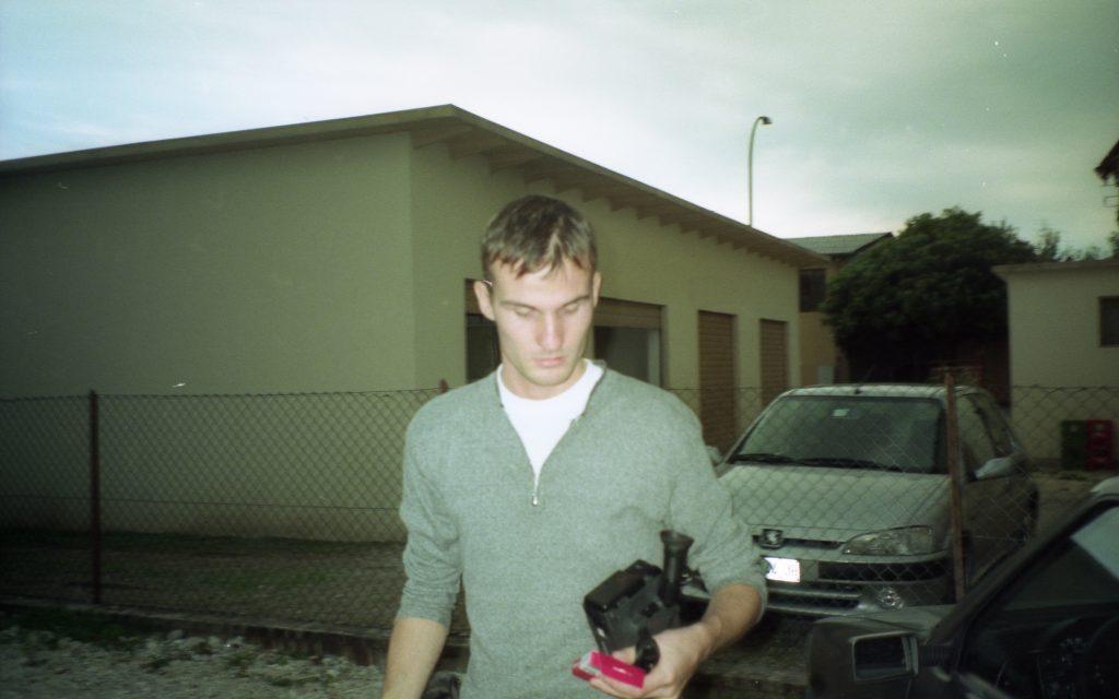 Daniele Carrer nel 1998