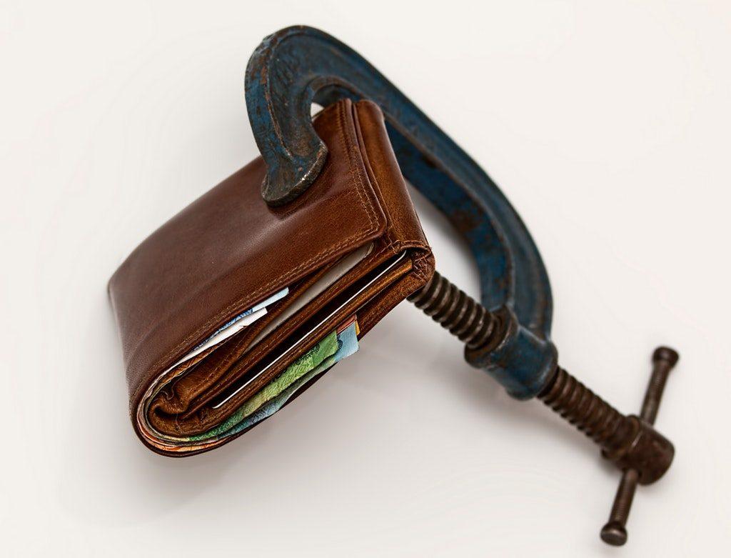 Stock image di un portafoglio