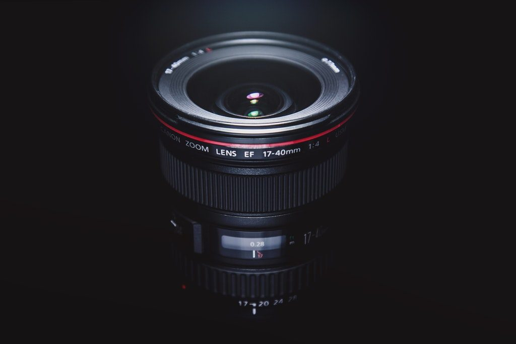 Obiettivo grandangolare Canon 17-40 serie L