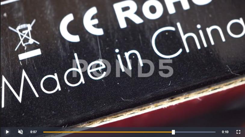 Fotogramma tratto da un video pubblicato su Pond5