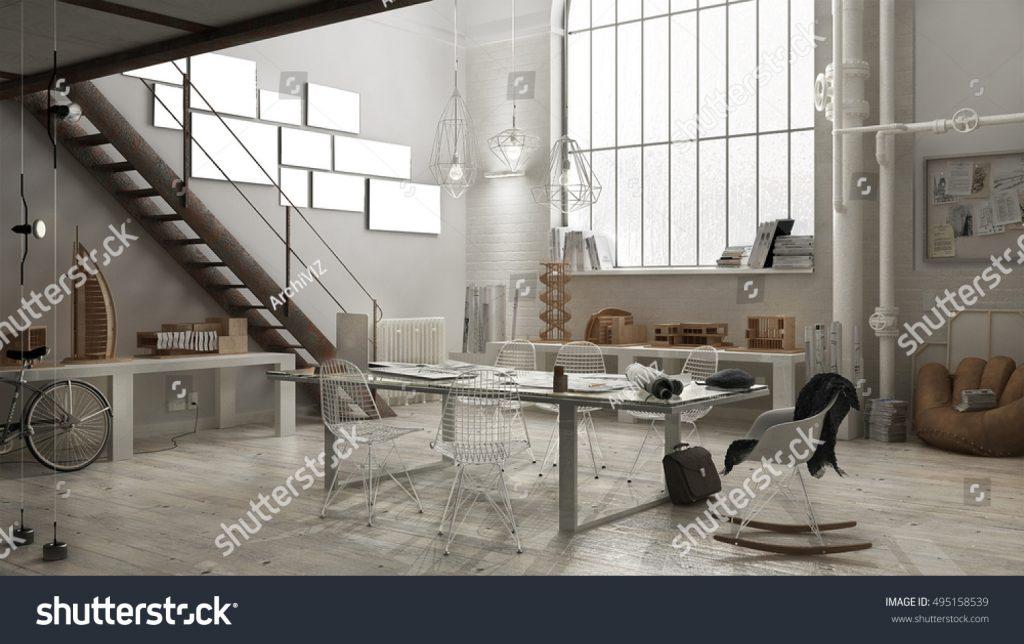 Cucina di design ricavata da una ristrutturazione