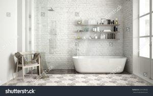 Bagno dal design scandinavo
