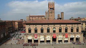 Palazzo del Podestà in Piazza Maggiore a Bologna