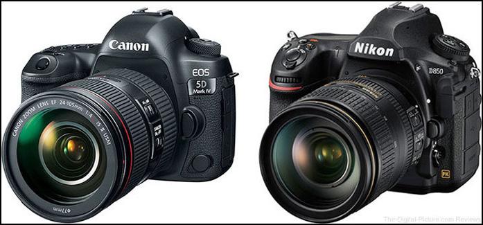 Nikon d850 vs Canon Eos 5d mark IV