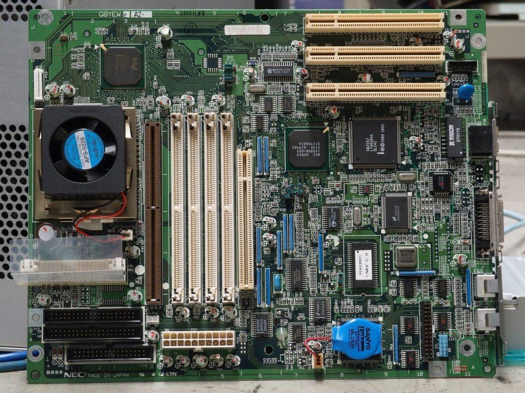 Interno di un computer fisso