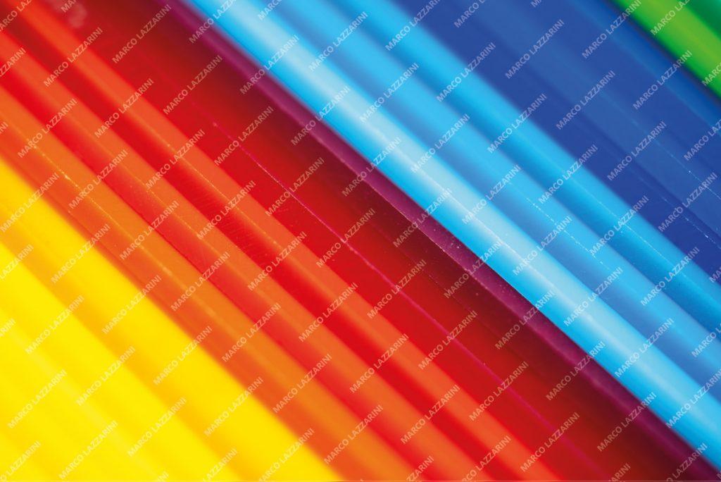 Stock image di plexiglass colorati