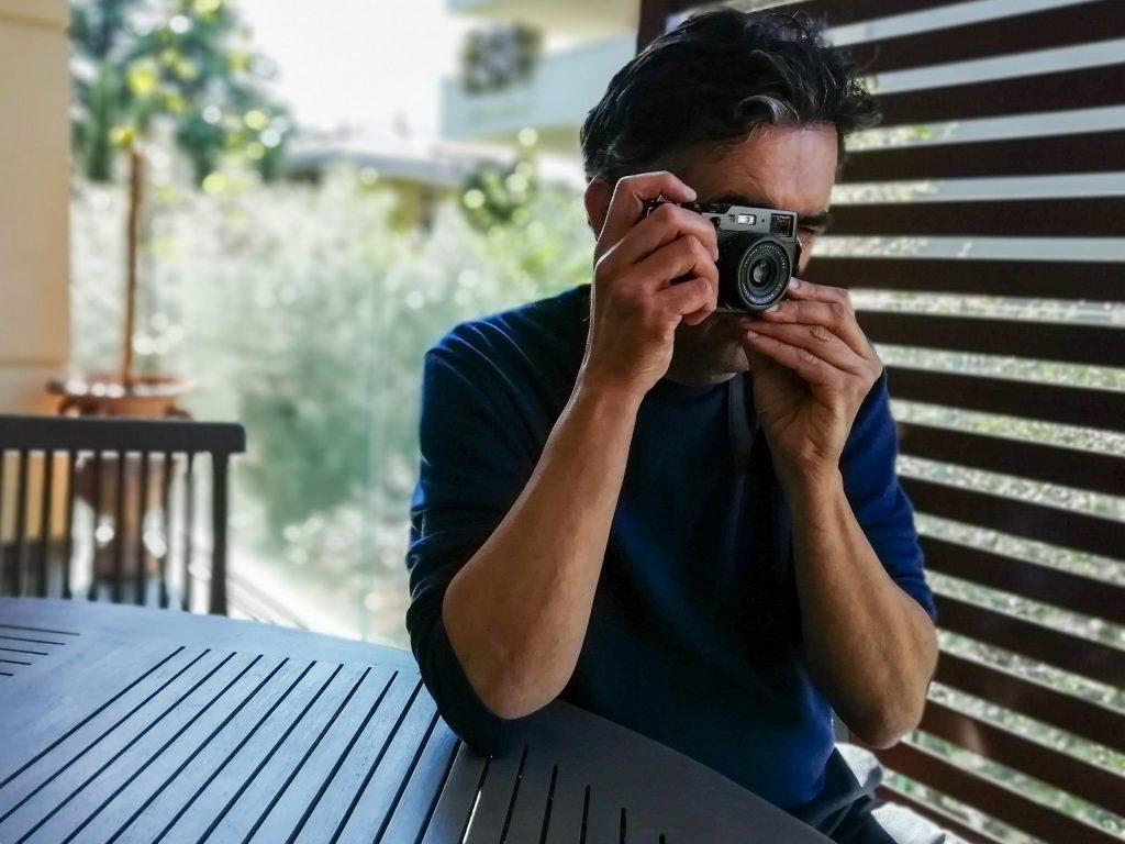 Il fotografo Riccardo Cirillo