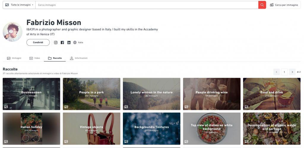 Il portfolio di Fabrizio Misson su Shutterstock