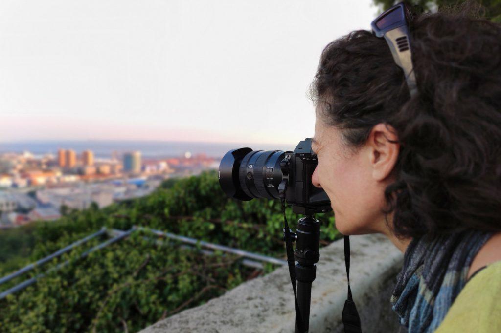 La fotografa e videomaker Mara Duchetti