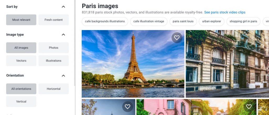 Risultati di Shutterstock ordinati per Most Relevant